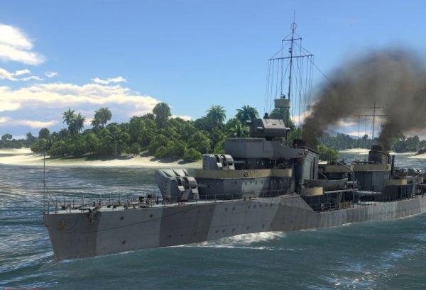 В War Thunder стартовал летний марафон и появились эсминцы пяти наций