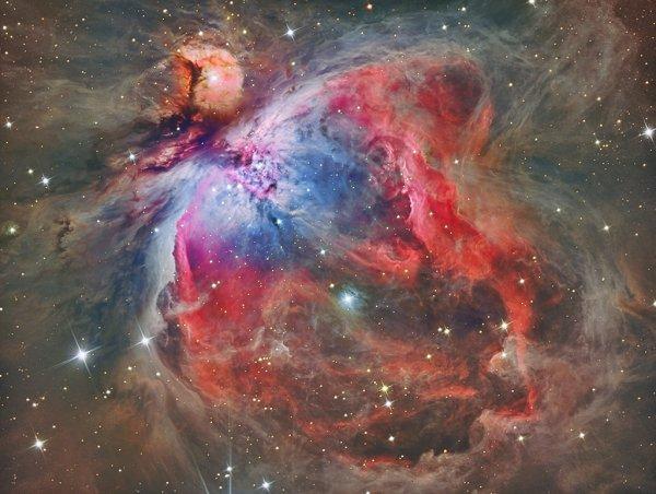 В Туманности Ориона учёными обнаружено 3 поколения звёзд