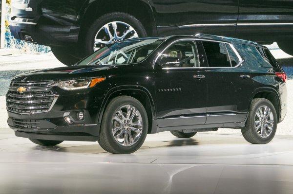 В России с начала 2018 года начнутся продажи Chevrolet Traverse