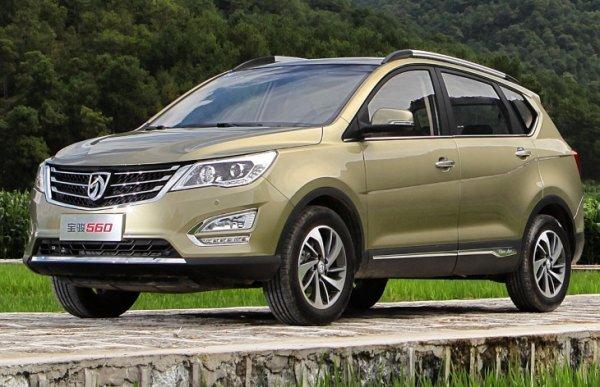 Семиместный кроссовер Baojung 560 появится на рынке в августе