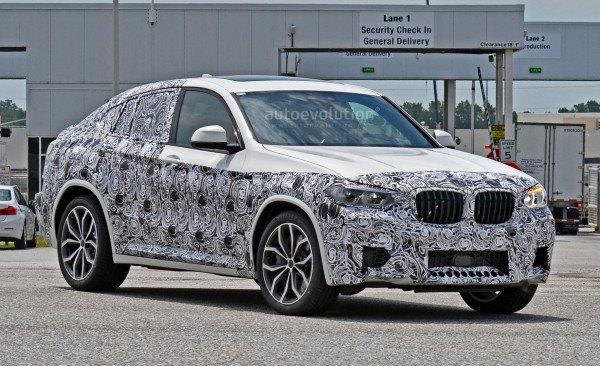 BMW X4 M новой генерации проходит дорожные тесты