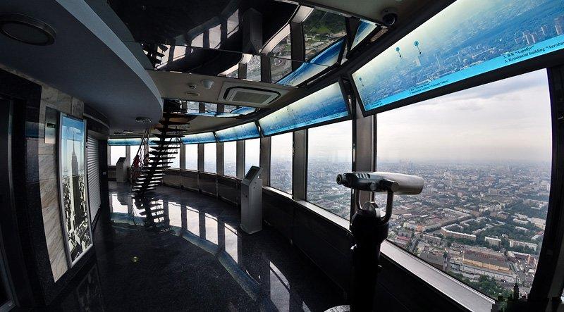 Смотровую площадку на85-м уровне Останкинской башни открыли для гостей
