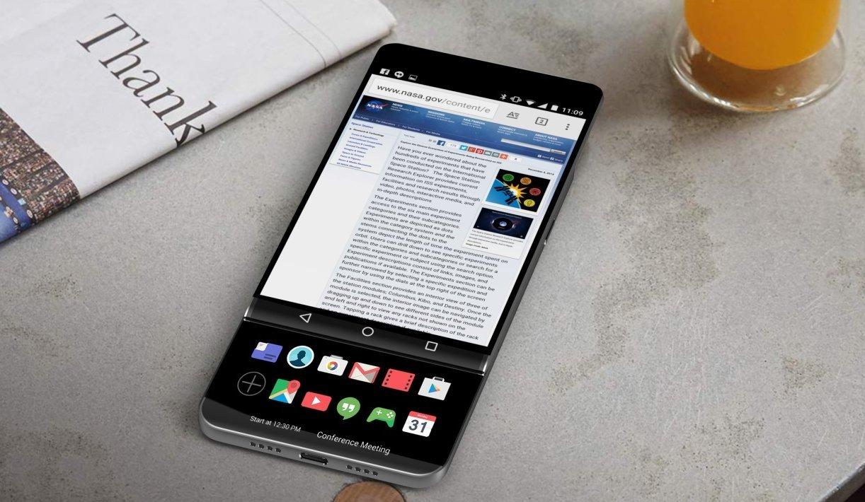 Новый LG V30 станет первым смартфоном с OLED Full Vision дисплеем