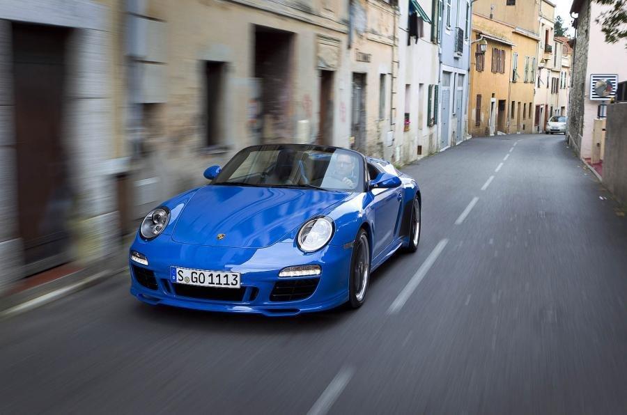 Порше привезет воФранкфурт Speedster-версию 911