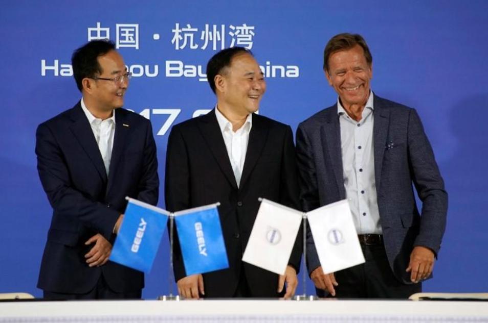 Volvo иGeely станут совладельцами новой компанииGV Automobile Technology