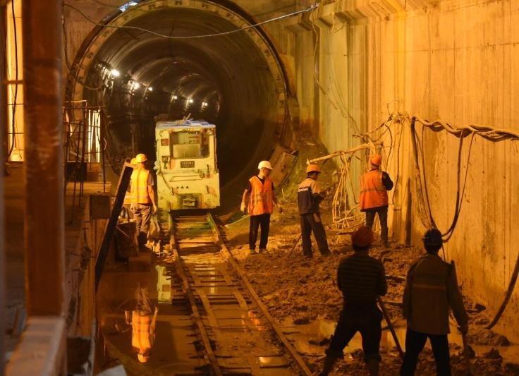 Строительство станции метро «Шелепиха» окончено на95%