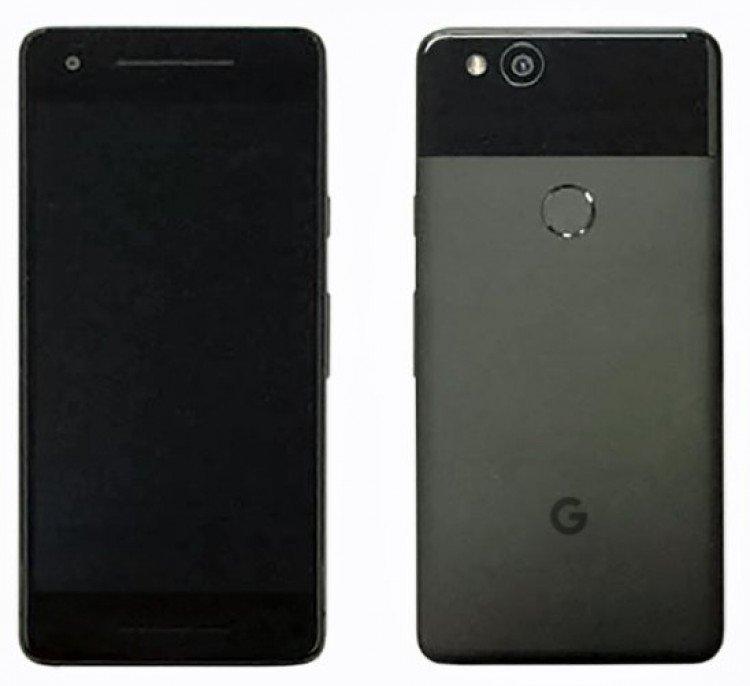 Вглобальной сети появились фото телефонов Google Pixel 2 иPixel 2 XL