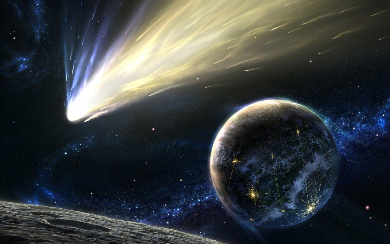 Ученые Жизнь на Земле возникла благодаря метеоритам