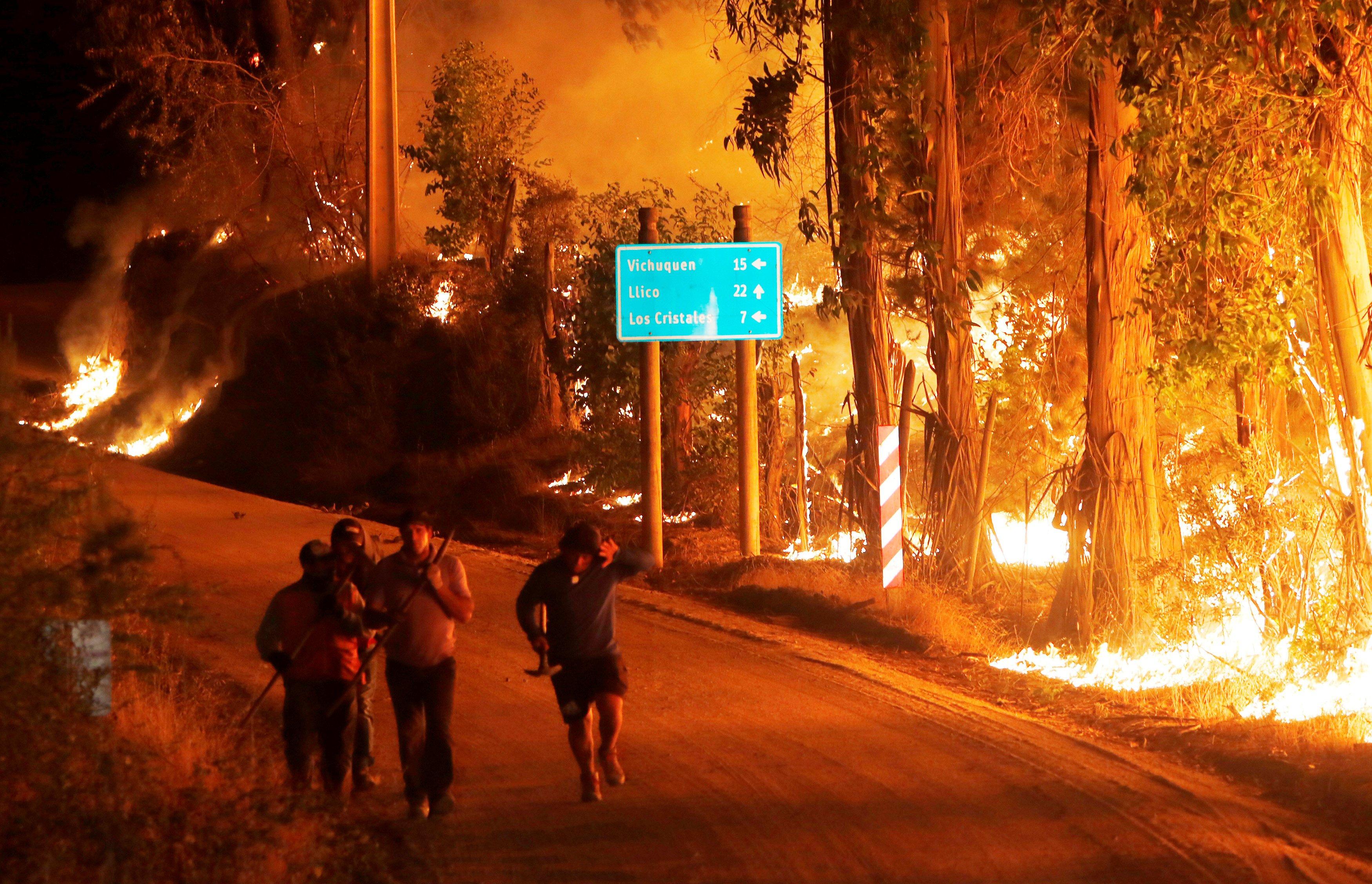 ВИталии пожарные пойдут под суд заподжог леса