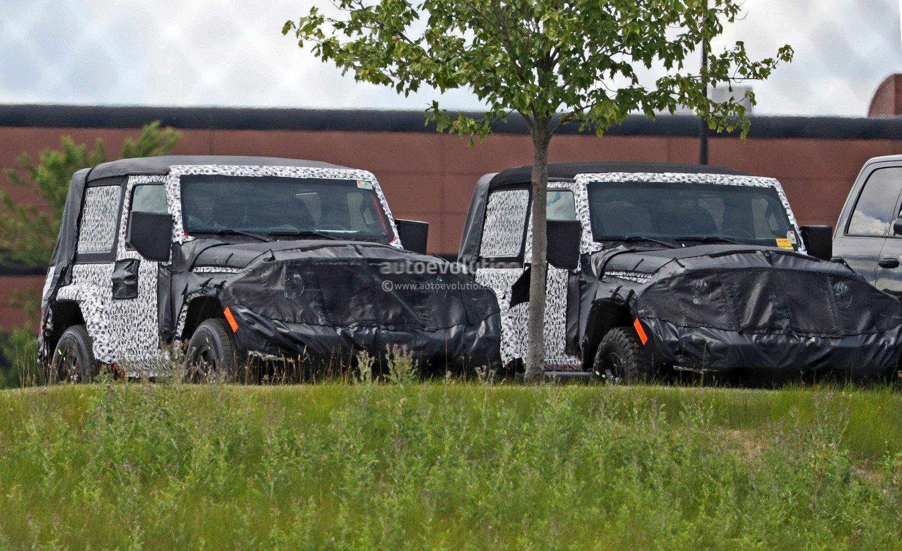 Кроссовер Jeep Wrangler обновленного поколения получит революционную полноприводную систему