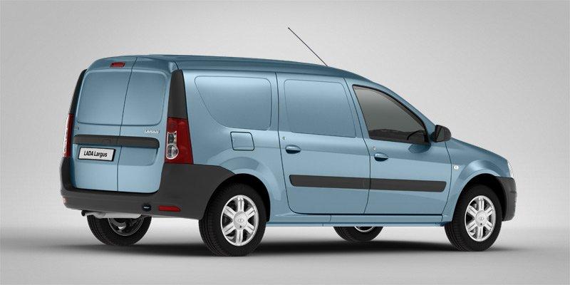 В РФ продажи фургонов Лада Largus возросли на40%