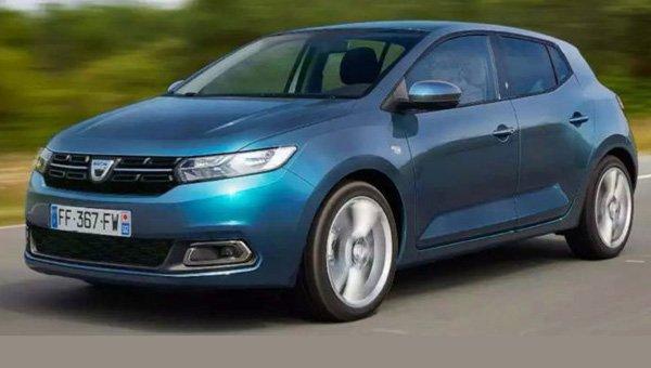 В сети появились изображения Dacia Sandero нового поколения