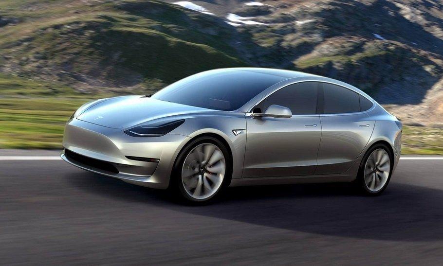 Названа мощность мотора нового электрокара Tesla Model 3