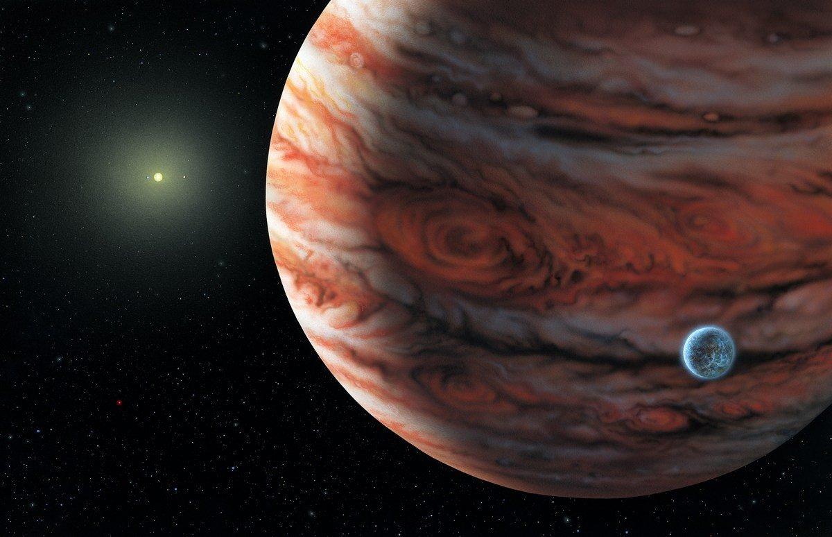 Учёные Под верхним слоем Юпитера скрывается ещё одна планета