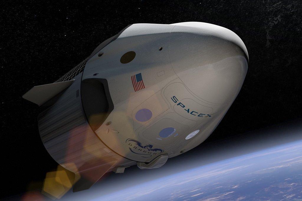 Запуск ракеты Falcon 9 с фургоном Dragon назначен на 14августа