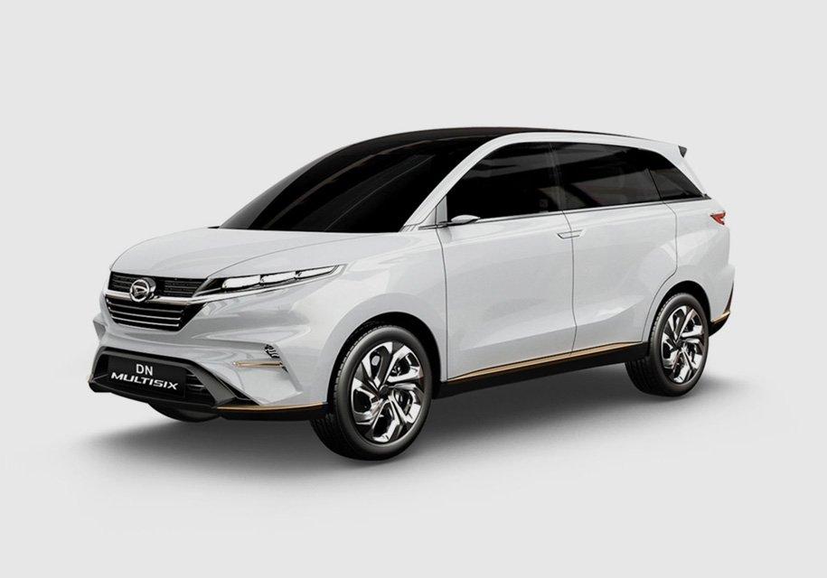 Daihatsu представила 4-дверное купе и минивэн