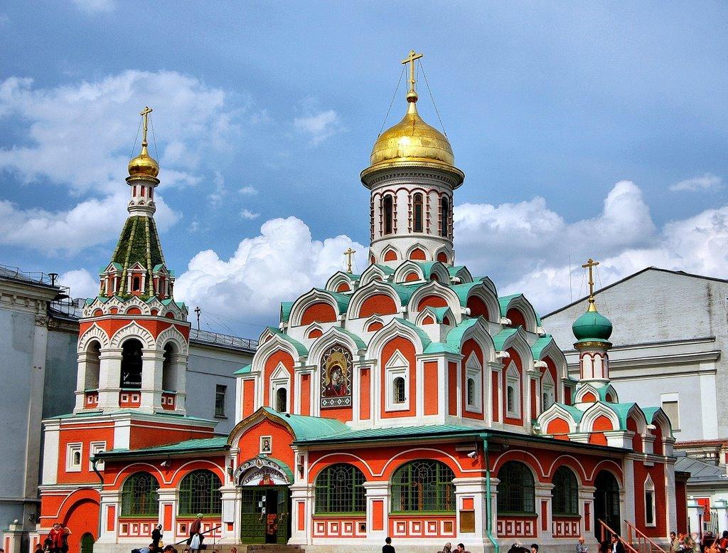 казанский собор в москве. фото