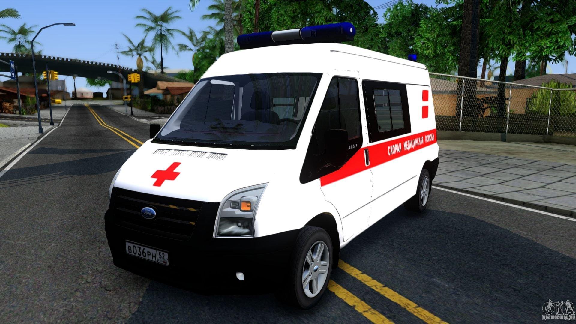 35 машин Форд Transit направились наслужбу скорой помощи вПерми