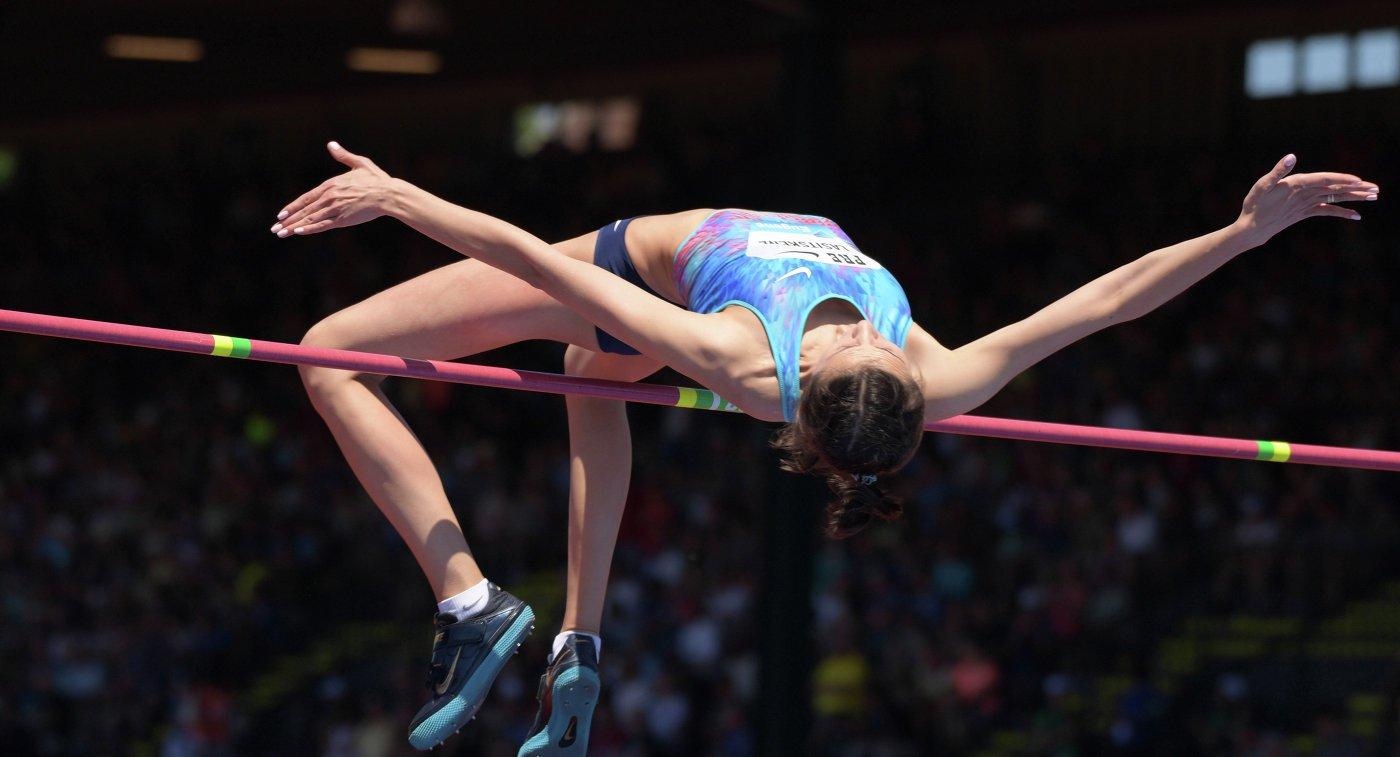 Россиянка Ласицкене выиграла золото чемпионата мира впрыжках ввысоту