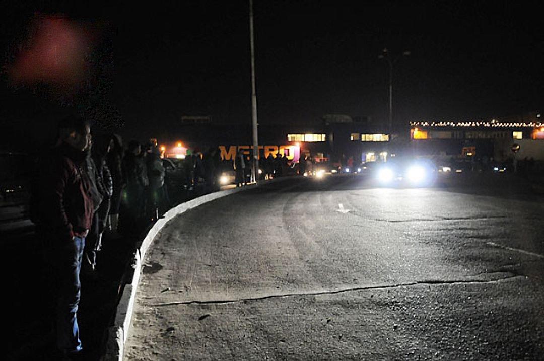 Ночью вПодмосковье прошли засекреченные гонки стритрейсеров