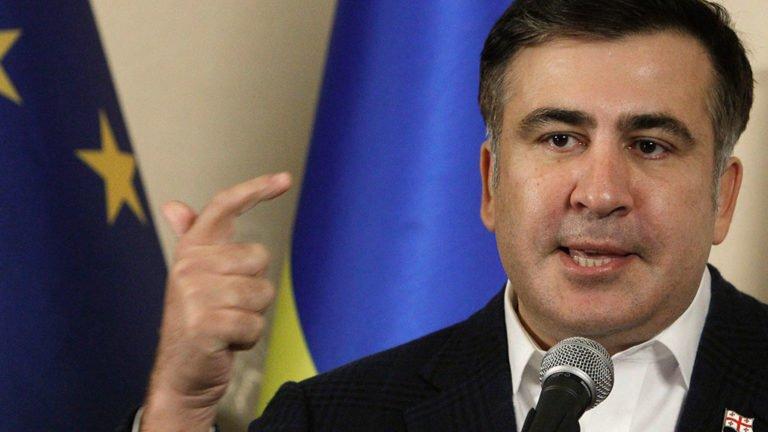 МВД Грузии заявило, что телефонного разговора овысылке Саакашвили небыло