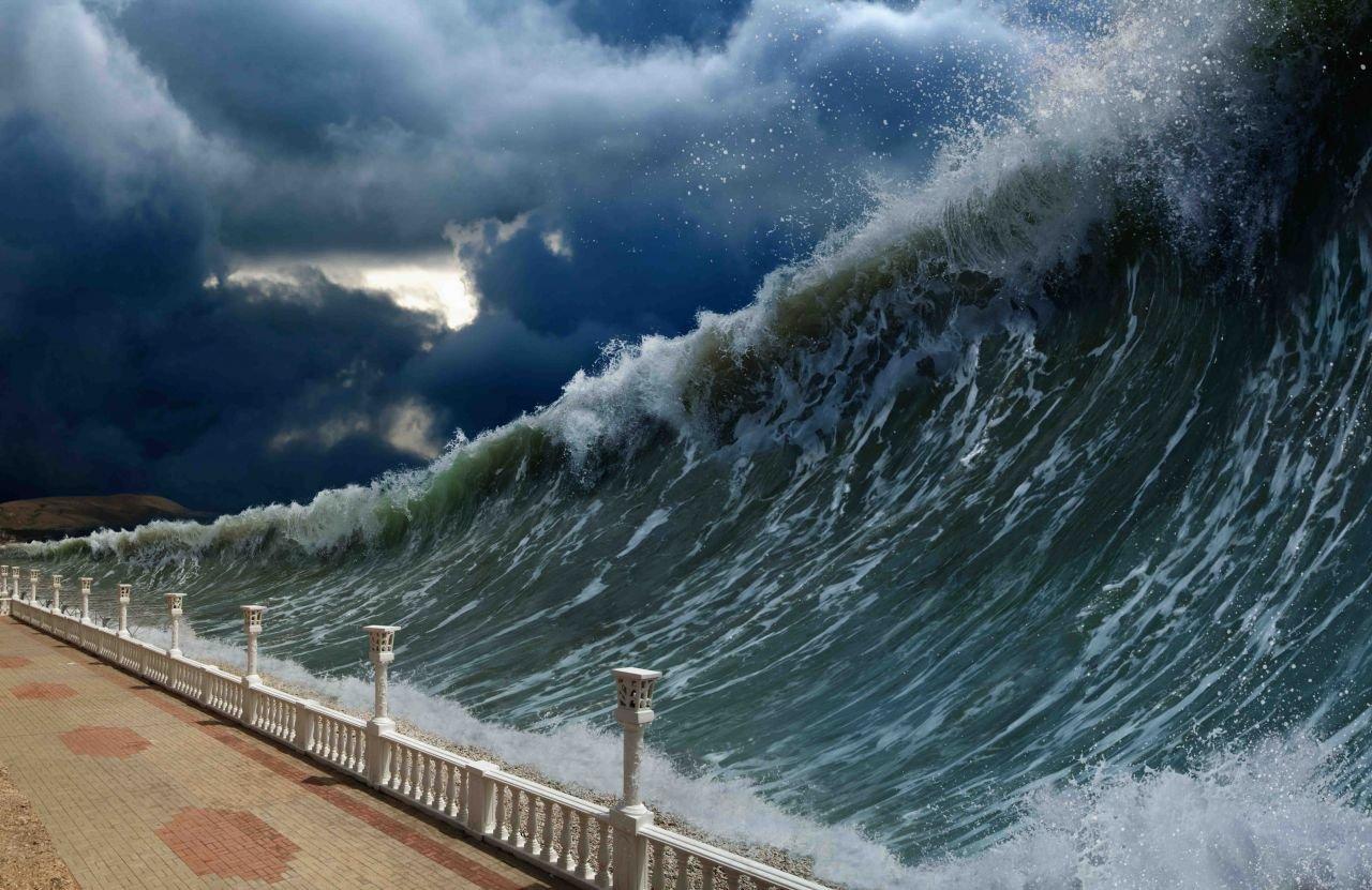 Ученые узнали, почему цунами необразуются после любого оползня