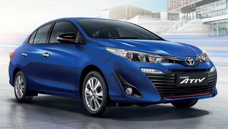 Озвучен ценник на новый седан Toyota Yaris Ativ