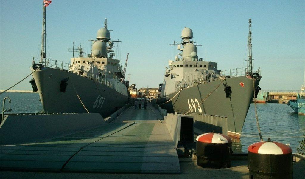 Каспийскую флотилию подняли потревоге
