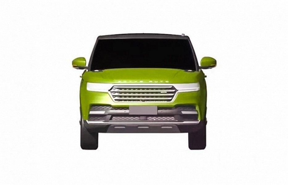 В КНР  делают недорогую  копию Range Rover Sport