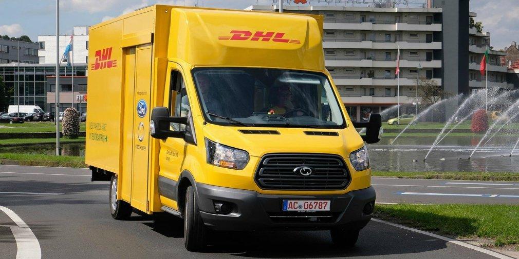Форд представил электрический фургон для DHL
