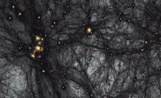 Кокон темной материи окутал Землю Рядом с нашей планетой существует портал в другое измерение