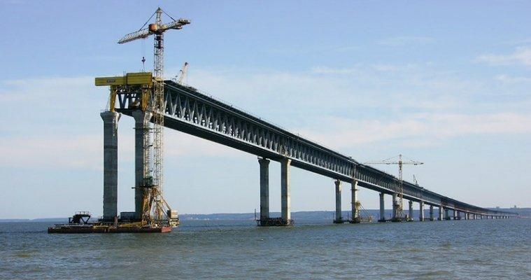 Для монтажа арок Крымского моста всередине сентября предусмотрят резервный срок