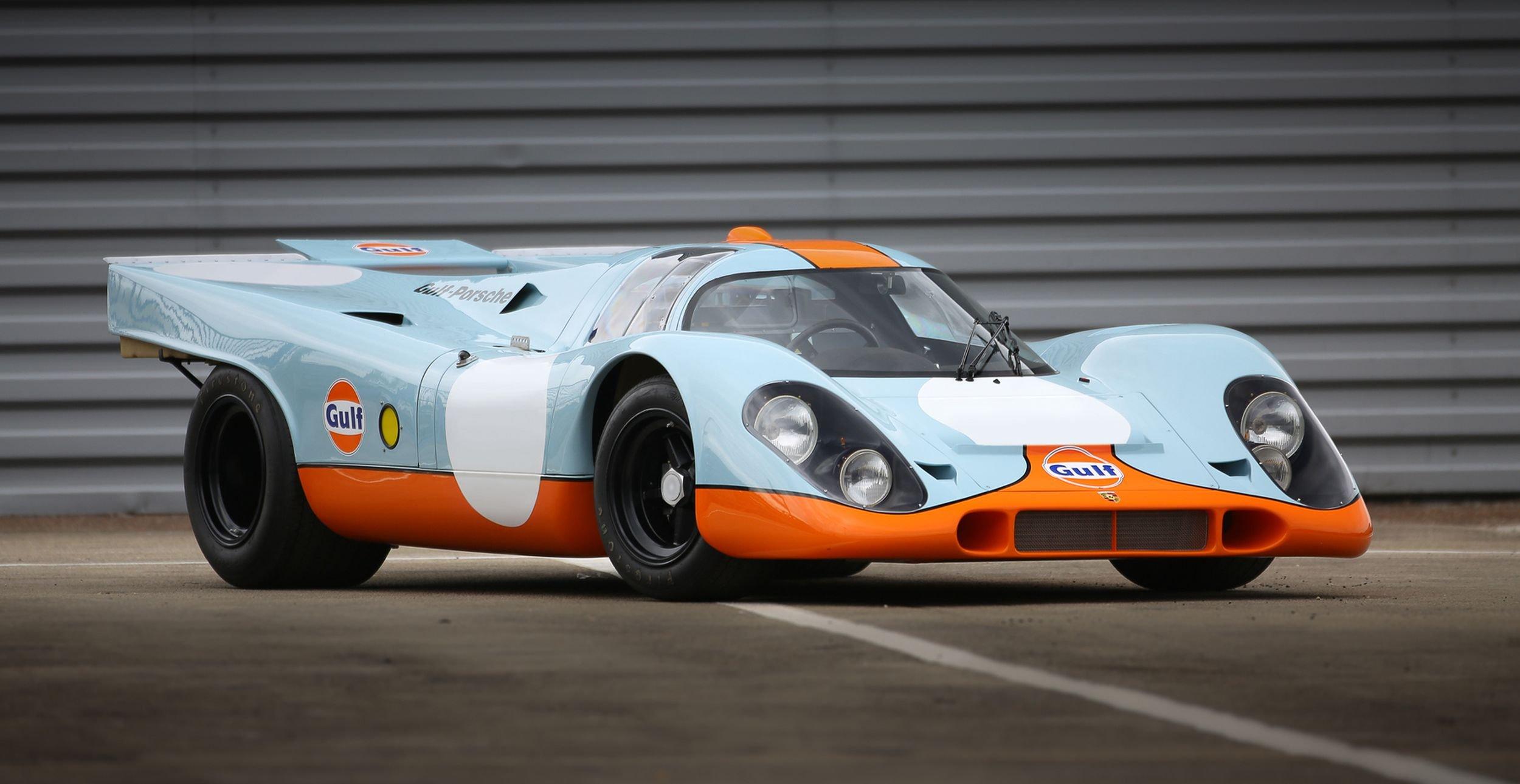 """Porsche 917 из фильма """"Ле-Ман"""" продали за 14,08 млн долларов"""