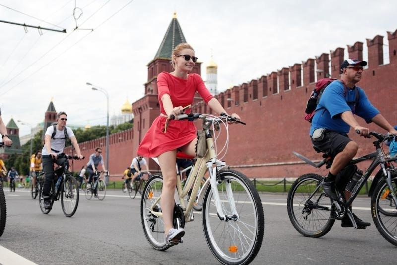 Москвичи поставили рекорд почислу поездок нагородских велосипедах