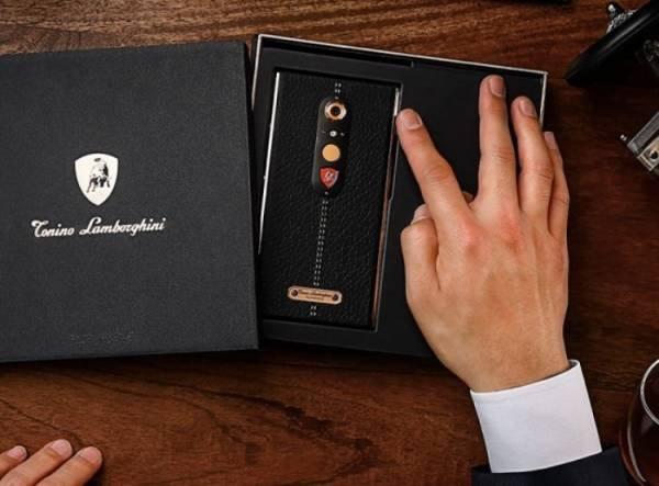 новый смартфон ламборджини