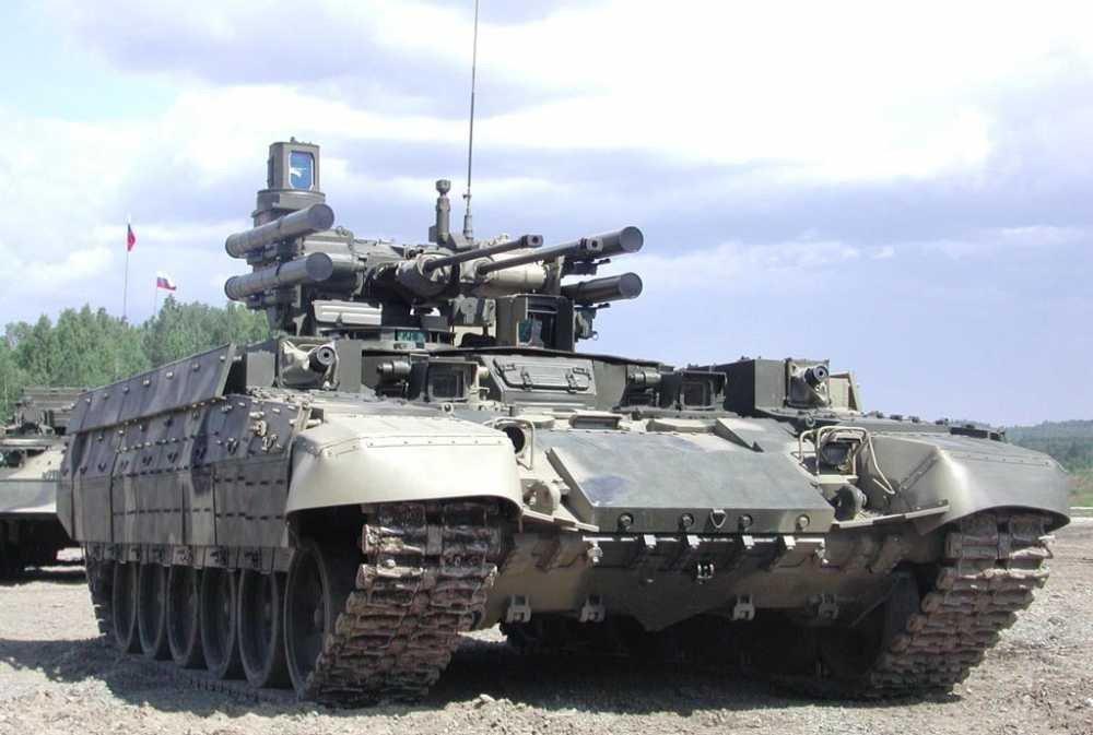 Минобороны впервый раз закупит танковые машины «Терминатор»