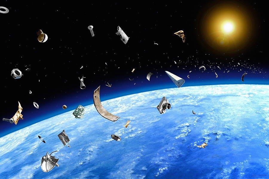 Космические державы объединятся для борьбы с мусором на орбите