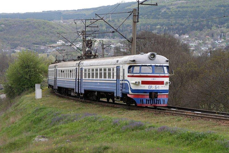 НаЗакарпатье зажегся поезд слюдьми