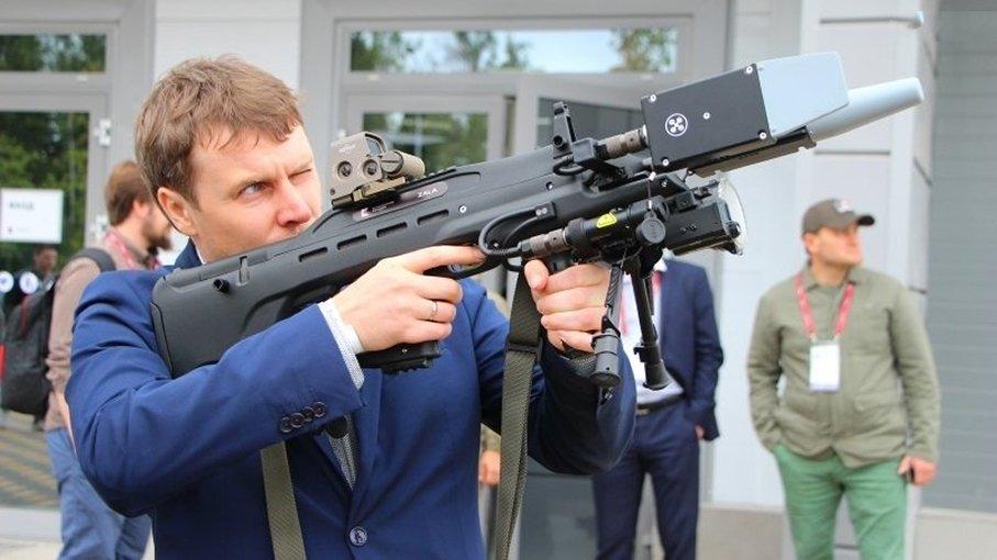 Концерн «Калашников» продемонстрировал  ружье-антидрон