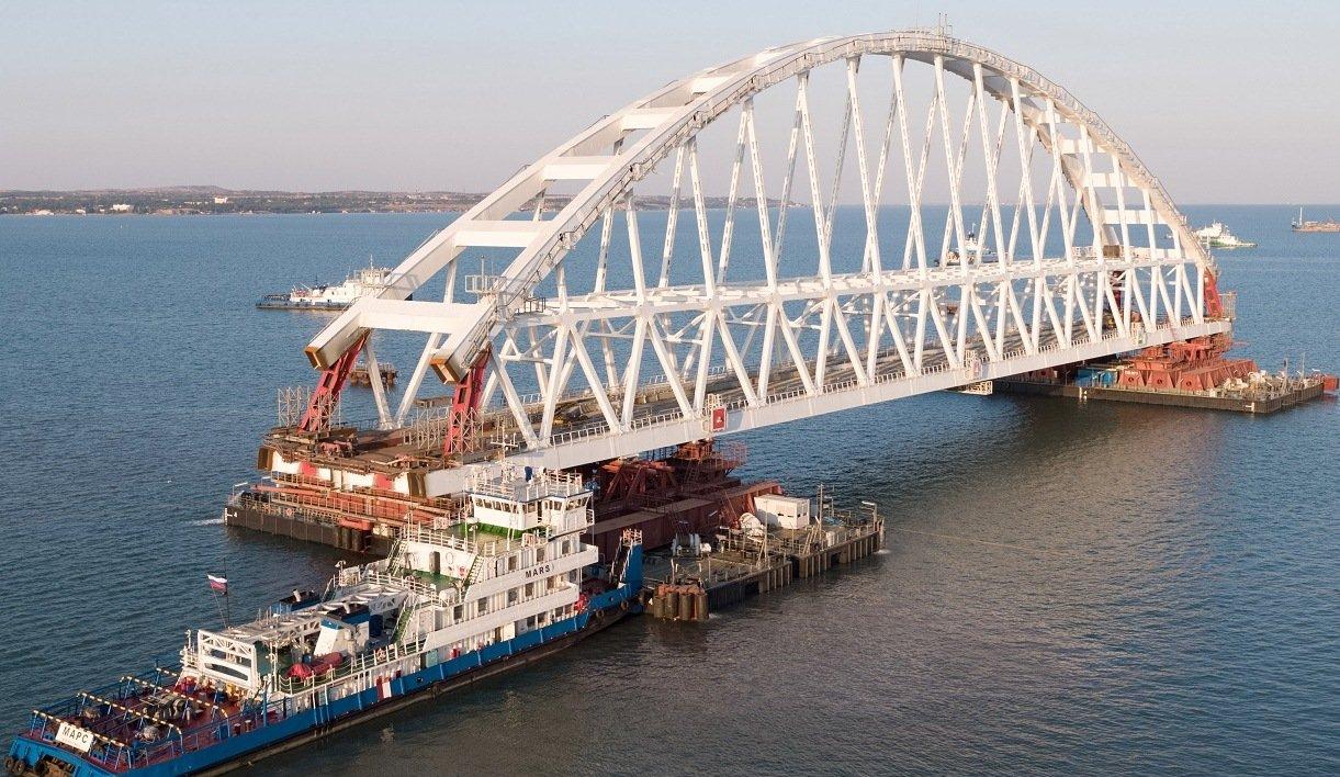 Фото проекта керченского моста