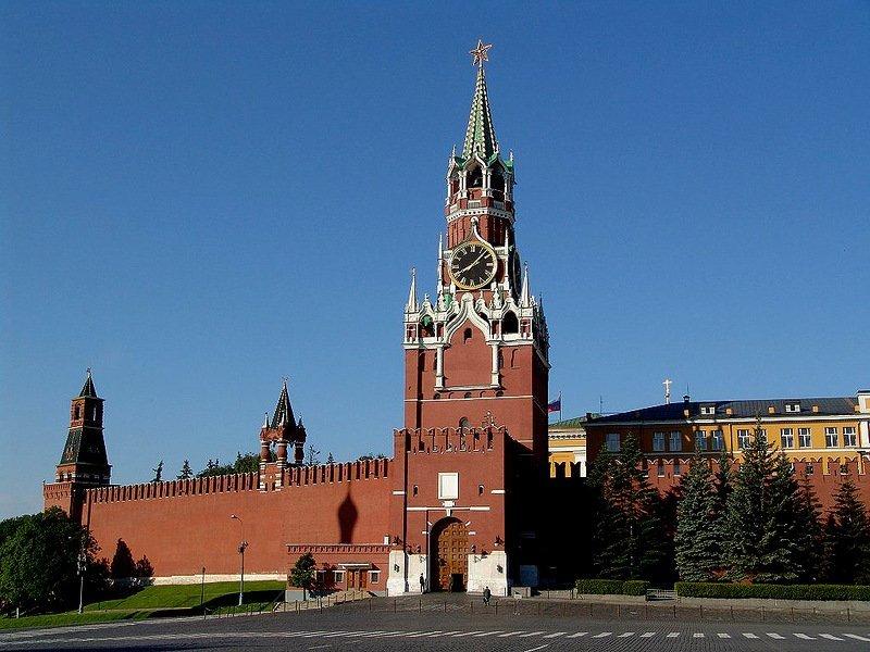 Спасские ворота Кремля закроются доя гостей наполтора месяца