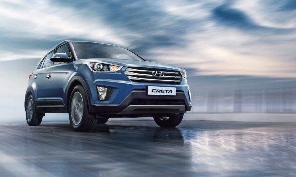 Hyundai Creta можно приобрести в кредит без первоначального взноса