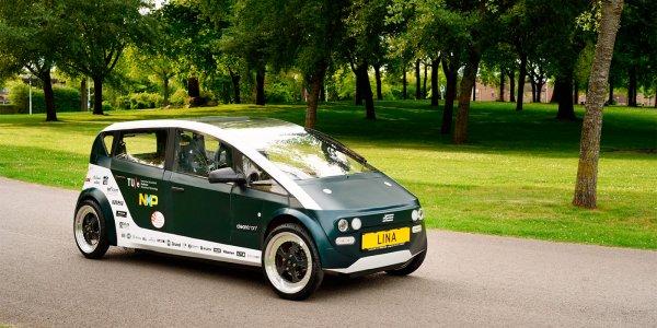 Нидерландские студенты сконструировали автомобиль из свеклы и льна