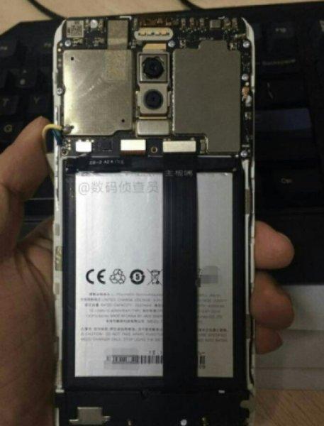 Засветился новый смартфон с двойной камерой Meizu M6 Note