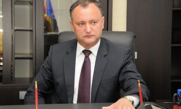 Додон пообещал не допустить дестабилизации на границе с Приднестровьем