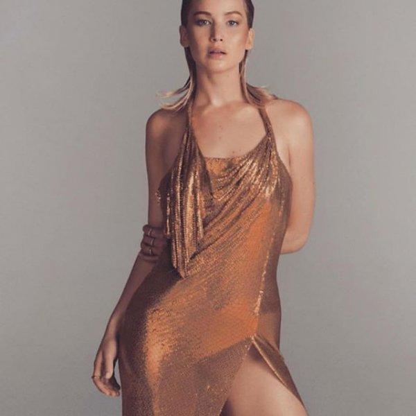 Голливудская актриса Дженнифер Лоуренс обнажилась для журнала Vogye