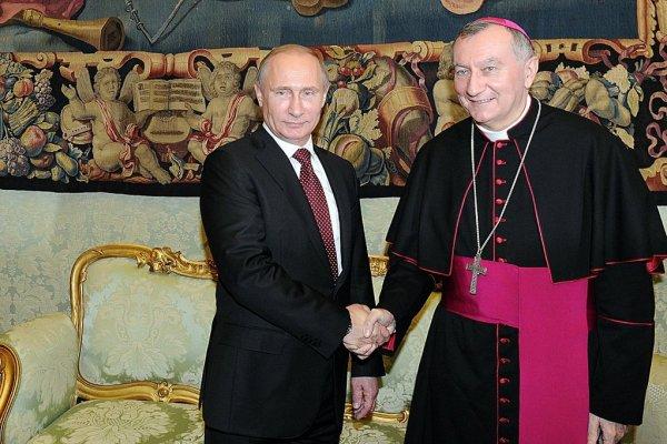 Путин обсудит ситуацию в Сирии и на Украине с госсекретарем Ватикана