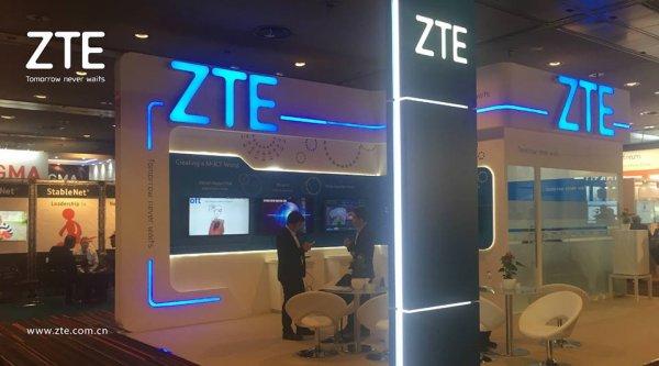 Прибыль ZTE за шесть месяцев увеличилась на 29,8%
