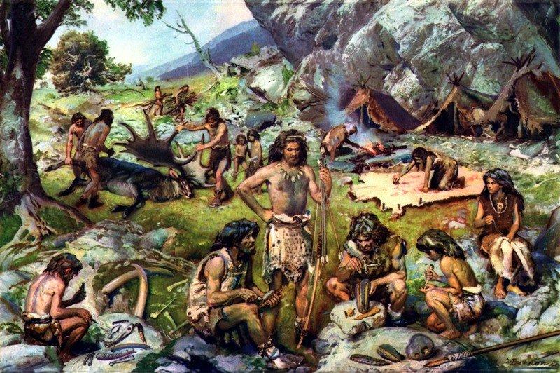 картинки человека древнего