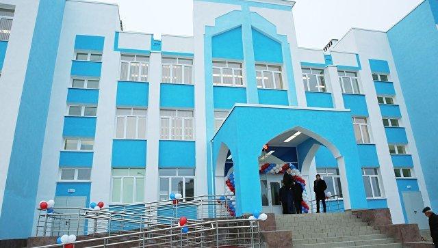 ВКрыму открыли школу «четырех президентов», которую строили четверть века